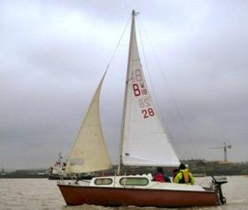 Bradwell 18 trailer sailer / yacht