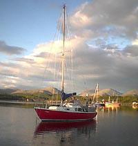 Corribee trailer sailer