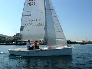 Dam 55 match race yacht
