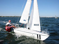 Flying15 sailing dinghy