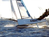 Formula18 catamaran