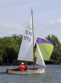 Gull sailing dinghy