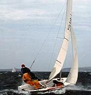 Hornet sailing dinghy