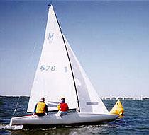M20 Scow sailing dinghy