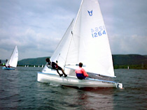 Osprey sailing dinghy
