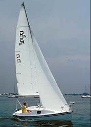 Precision 165 trailer sailer