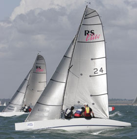 RS Elite sailing dinghy
