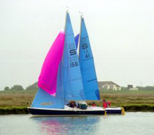 Sandhopper sailing dinghy
