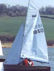 Scorpion sailing dinghy