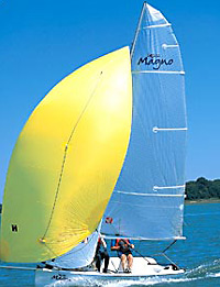 Topper Mango sailing dinghy