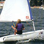 Topper Taz sailing dinghy