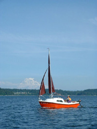 West White Potter 15 Yacht