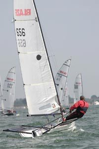 Blaze sailing dinghy