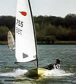 Comet sailing dinghy