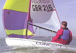 Concept 302 sailing dinghy