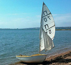 Nipper sailing dinghy