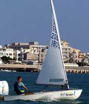 Ok sailing dinghy