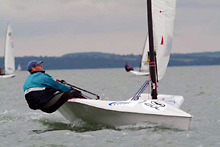 RS300 sailing dinghy