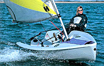 RS Feva sailing dinghy