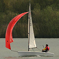 RS Vareo sailing dinghy