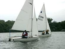 Bosun sailing dinghy