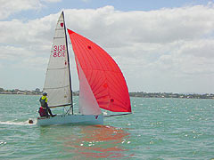 Cherub sailing dinghy