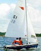 Comet Duo sailing dinghy