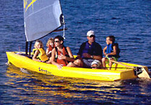 Escape 12 sailing dinghy
