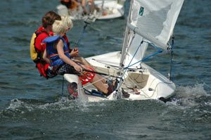 Fusion 15 sailing dinghy