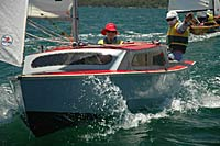 Hartley16 trailer sailer