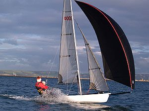 Laser 3000 sailing dinghy