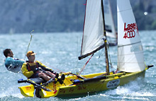 Laser 4000 sailing dinghy