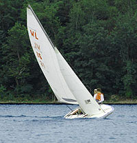 M16 Scow sailing dinghy