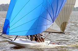 M17 sailing dinghy
