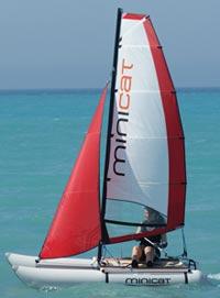Minicat 310 catamaran