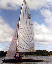 Norfolk Punt sailing dinghy