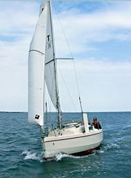 Redfox 200 trailer sailer yacht