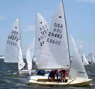 Snipe sailing dinghy