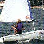 Topper Taz sailing dinghy