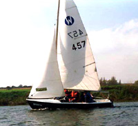 Wanderer sailing dinghy