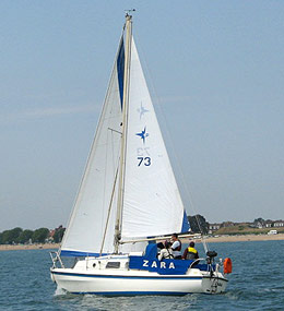 Westerly Pageant Yacht